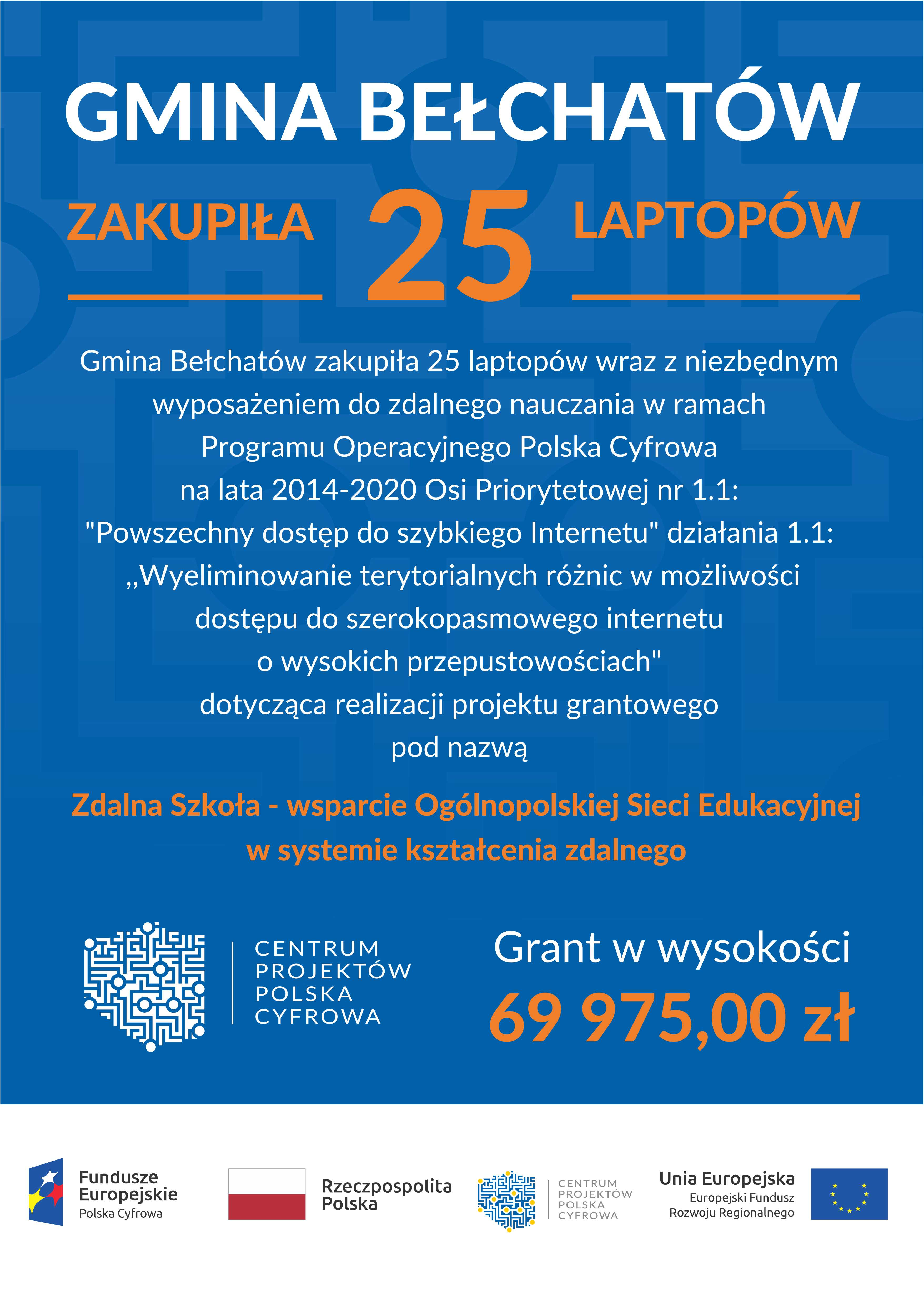 Ilustracja do informacji: Zdalna Szkoła - wsparcie Ogólnopolskiej Sieci Edukacyjnej w systemie kształcenia zdalnego: