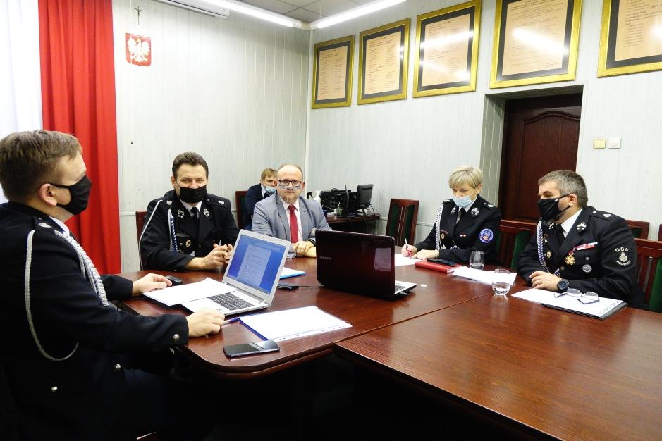 Ilustracja do informacji: Strażacy z Gminy Bełchatów podsumowali rok 2020: