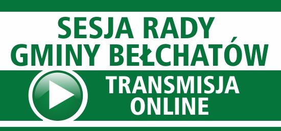Baner: Transmisja online sesji